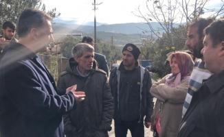 Bursa'da ahşap ev alev alev yandı
