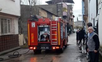 Bursa'da korkutan yangın