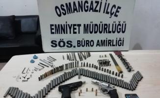 Bursa'da silah imâlâtçısı 2 kişi yakalandı