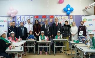 Bursagaz'dan özel eğitim sınıflarına destek