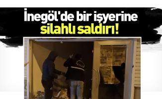İnegöl'de bir işyerine silahlı saldırı
