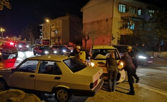 Mimar Sinan'da korkutan kaza