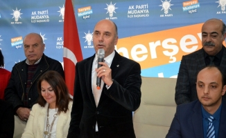 Mudanya AK Parti İlçe Başkanı istifa etti