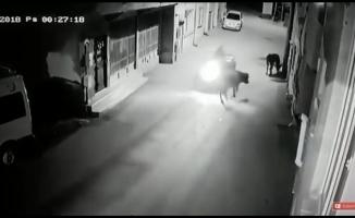 (Özel) Bursa'da akıl almaz kaza kameraya yansıdı