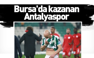 Spor Toto Süper Lig: Bursaspor: 0 - Antalyaspor: 2