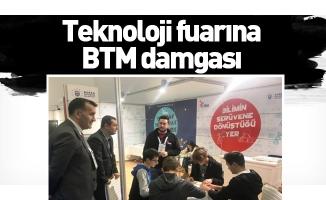 Teknoloji fuarına BTM damgası