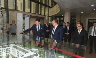 Vali Canbolat'tan Başkan Dündar'a iâde-i ziyaret