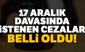 17 Aralık kumpas davasında 25 sanığa ağırlaştırılmış müebbet istemi