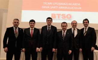 BTSO Tahkim ve Arabuluculuk Merkezi Türkiye'ye örnek oldu