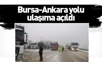 Bursa-Ankara yolu ulaşıma açıldı