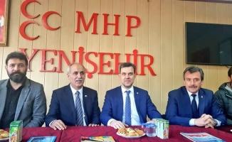 Cumhur İttifakı seçim çalışmalarına Yenişehir'den başladı