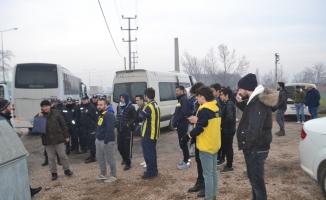 Fenerbahçe taraftarı İnegöl'de didik didik arandı