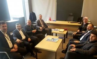 İnegöl heyetinden Ankara ziyareti