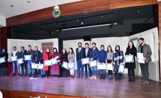 İNESMEK'te 691 kursiyer sertifikasını aldı