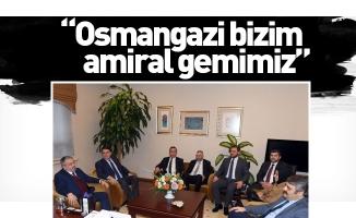 """Salman: """"Osmangazi bizim amiral gemimiz"""""""
