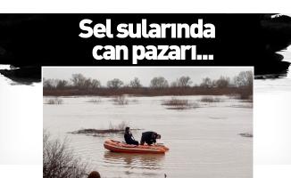 Sel sularında can pazarı...
