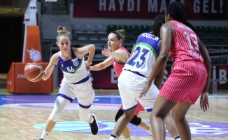 Türkiye Kadın Basketbol Ligi: Bayraklı Belediyesi: 72 - Bursa BŞB: 75