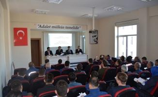 Adli kolluk koordinasyon toplantısı düzenlendi