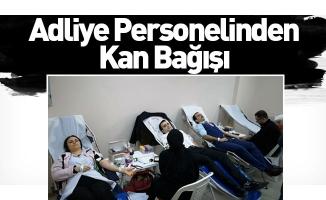 Adliye Personelinden Kan Bağışı