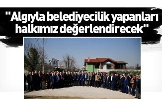 """Alinur Aktaş: """"Algıyla belediyecilik yapanları halkımız değerlendirecek"""""""