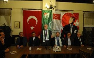 Bozbey : Stadyumun ismini Bursalı ve Bursasporlular belirleyecek