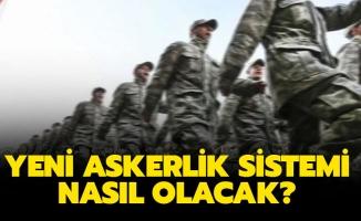 Cumhurbaşkanı Erdoğan yeni askerlik sistemini açıkladı