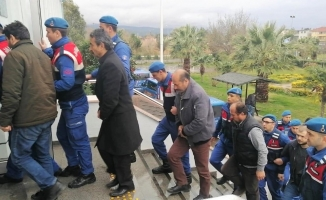 Dozerli kaçak kazıya çifte tutuklama
