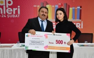 Edebiyat Yarışmasının Ödülleri Sahiplerini Buldu