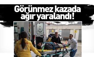 İnegöl'de fabrikanın giderine düşen işçi ağır yaralandı