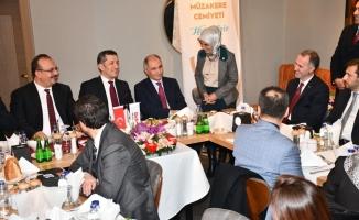 Milli Eğitim Bakanı Ziya Selçuk İnegöl Müzakere Cemiyetiyle buluştu