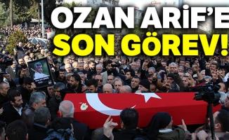 Ozan Arif'e son görev