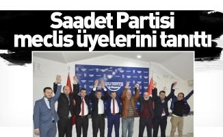 Saadet Partisi meclis üyelerini tanıttı