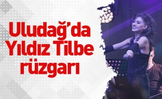 Uludağ'da Yıldız Tilbe rüzgarı