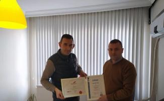 Yenişehir'in haber sitesine Uluslararası Medya Kalite Standartları Belgesi
