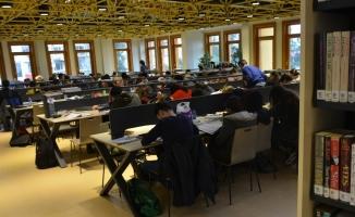 7 gün 24 saat açık olan kütüphaneler Bursa'ya kazandırılacak
