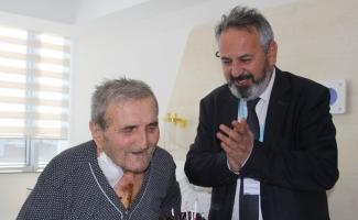 90 yaşına bastığı gün yeniden doğdu