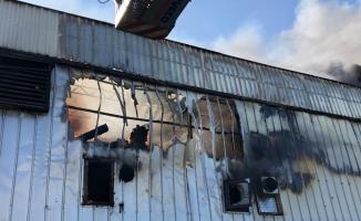 Bursa'da tekstil fabrikasında çıkan yangın güçlükle kontrol altına alındı