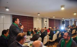 Dündar'dan Gaziantepliler Derneği'ne ziyaret