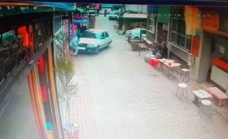 Ganyan bayiine dalan çocuk sürücü serbest