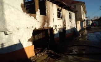 Hamamlı Mahallesinde Korkutan Yangın