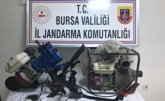 Jandarma, hırsızları sosyal medyada satışa çıkarılan çalıntı mallardan tespit etti