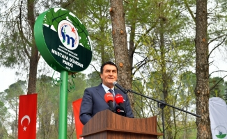 """Mustafakemalpaşa'ya """"Mustafa Dündar Parkı"""""""