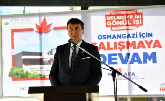 Osmangazi'den köylere hizmet yağmuru