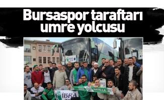 Bursaspor taraftarı umre yolcusu