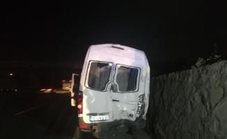 Bursaspor taraftarları ölümden döndü: 10 yaralı