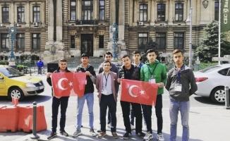 Büyükorhanlı öğrenciler Romanya'da