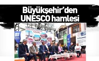 Büyükşehir'den UNESCO hamlesi