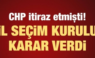 CHP'nin Bursa'da yaptığı itiraz İl Seçim Kurulunca reddedildi