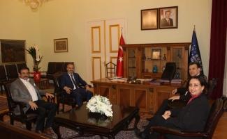 Doruk Sağlık Grubu'ndan Başkan Aktaş'a hayırlı olsun ziyareti