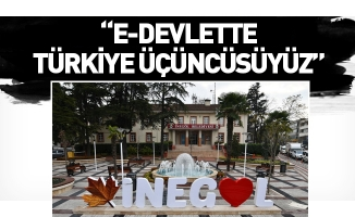 İnegöl Belediyesi, E-Devlet Uygulamasında Türkiye Üçüncüsü